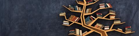 Foto boekenboom
